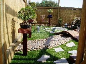 decoracion de un jardin