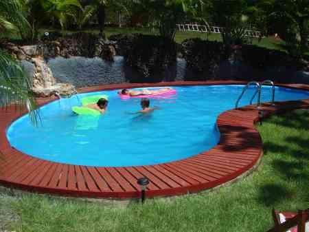 Instalacion de piscinas en casas y edificios for Instalacion de piscinas