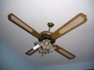 instalar ventiladores de techo