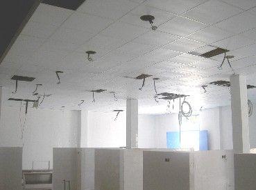 Falsos techos de escayola - Materiales para techos falsos ...