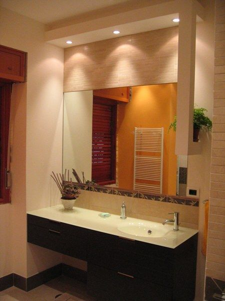 bathroom soffit lighting espejos para ba 241 os 11521