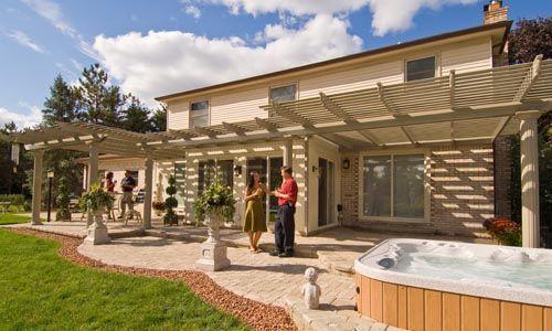 P 233 Rgolas Para Jardines De Casas Y Hoteles