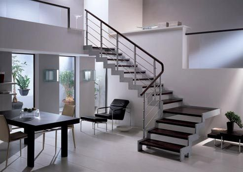 Tipos de escaleras for Decoracion minimalista definicion
