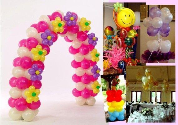 Como decorar con globos - Adornos de globos ...