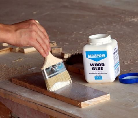 Encolado de madera for Lecciones de castorama de bricolaje