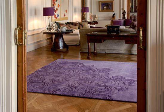 Las alfombras en la decoracion interior - Alfombras de madera para salon ...