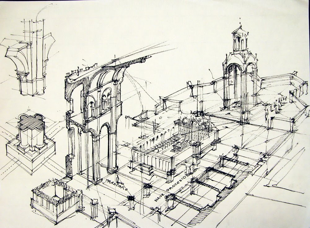 el dibujo arquitectonico