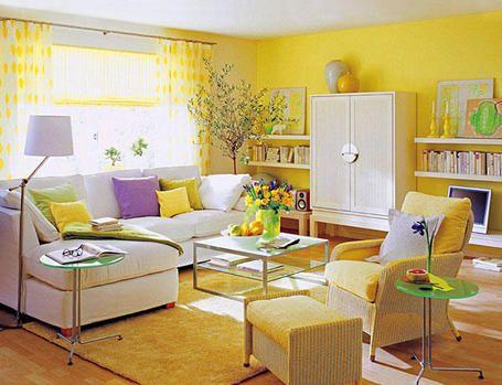 Esquemas de colores en la decoracion - Como combinar colores para pintar paredes ...