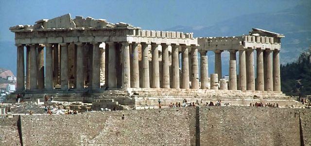 Historia del partenon for Arquitectura de grecia