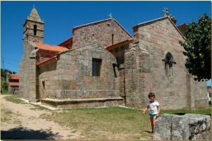 Iglesia Nosa Señora das Areas - España