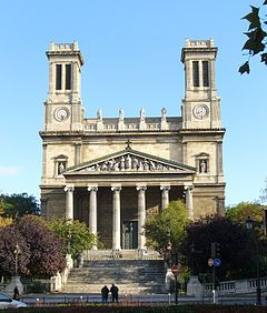Iglesia San Vicente de Paul - Paris
