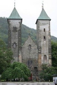 Iglesia Santa Maria de Bergen - Noruega