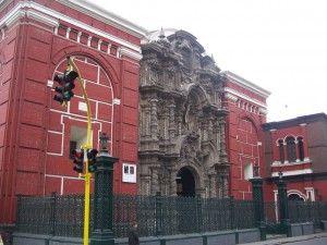 Iglesia de San Agustin Lima - Peru