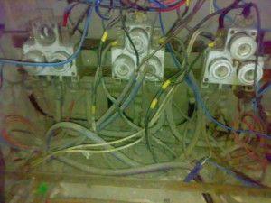 Instalaciones  electricas del ascensor