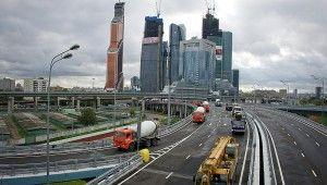 La construccion de edificios en Rusia