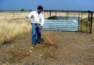 Preparacion del terreno