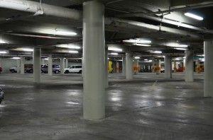 Sistema subterraneo de estacionamiento