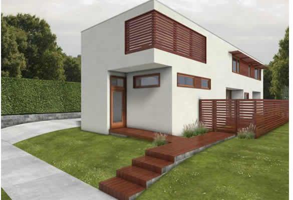 Dise o de casas ecologicas for Diseno de apartamentos de 45m2