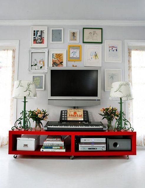 Como colocar la tv en tu sala - Donde colocar tv en cocina ...