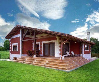 Dise o de casas de campo for Casas campestres modernas planos