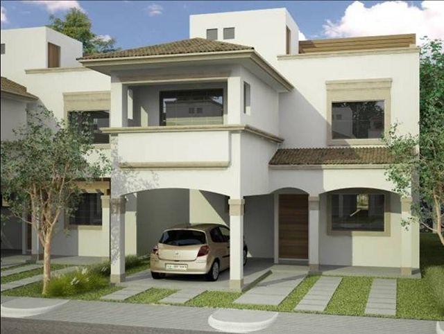 Imagenes de casas de 2 pisos fotos presupuesto e imagenes for Modelos de casas de 2 pisos