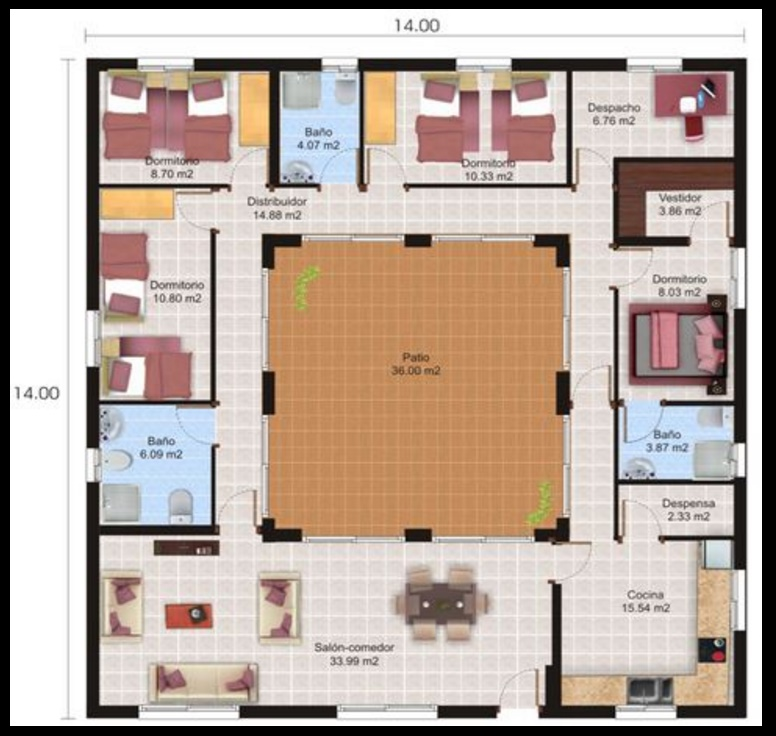 Fotos de planos de casas gratis fotos presupuesto e for Paginas para hacer planos de casas gratis
