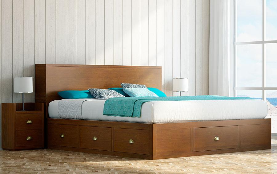 Imagenes de camas de madera. Fotos, presupuesto e imagenes.