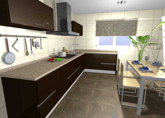 Fotos de cocinas integrales de madera fotos presupuesto for Fotos de cocinas integrales