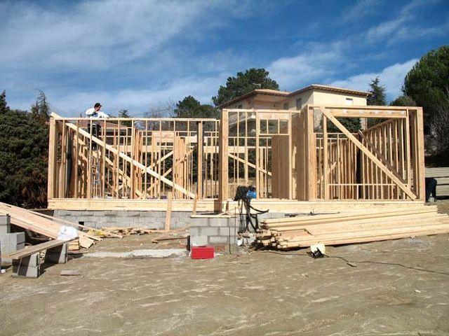Fotos de estructuras de casas fotos presupuesto e imagenes - Estructura casa madera ...