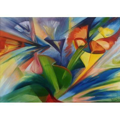Fotos de pinturas abstractas fotos presupuesto e imagenes for Pintura clorocaucho colores