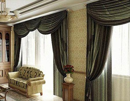Imagenes de cortinas de sala fotos presupuesto e imagenes - Diferentes modelos de cortinas para sala ...