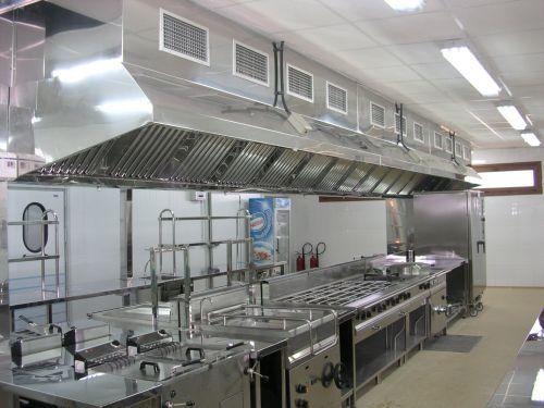Campanas para cocinas industriales fotos presupuesto e imagenes - Mobiliario de cocina industrial ...