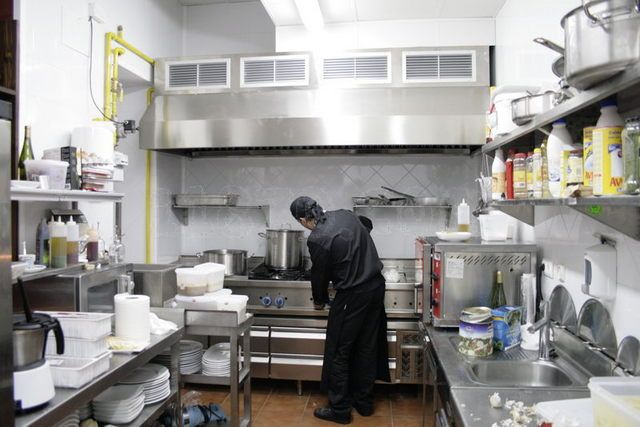 Cocinas para restaurantes fotos presupuesto e imagenes for Cocinas integrales para restaurantes