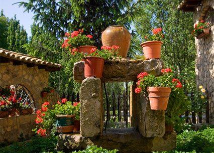 Decoracion exteriores jardin fotos presupuesto e imagenes for Adornos para jardin exterior