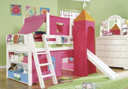 Dormitorios infantiles originales fotos presupuesto e - Habitaciones infantiles nina ...