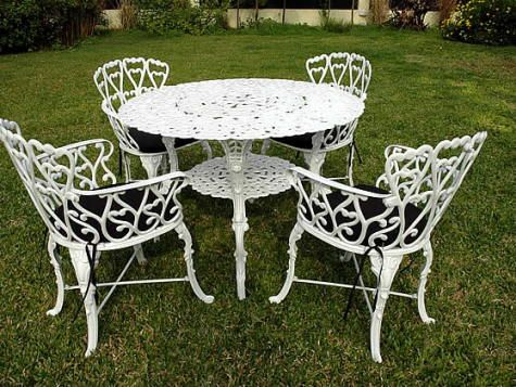muebles jardin aluminio fotos presupuesto e imagenes ForMuebles Jardin Aluminio