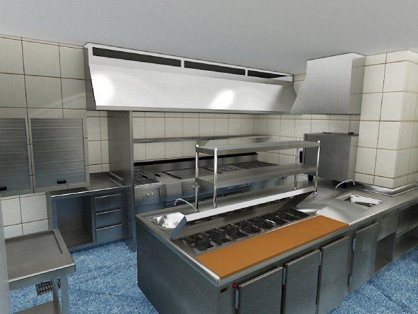 Precios cocinas industriales fotos presupuesto e imagenes for Mobiliario y equipo de cocina