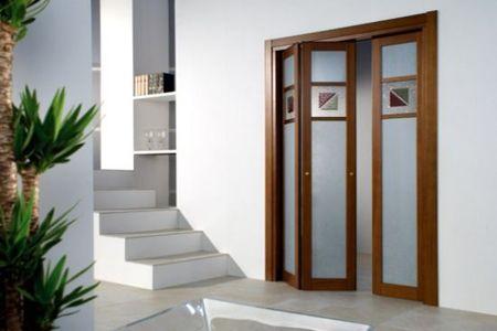 Puertas plegables para ba os fotos presupuesto e imagenes for Vidrios decorados para puertas interiores