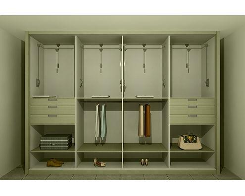 Roperos para dormitorios fotos presupuesto e imagenes for Closet de madera para dormitorios