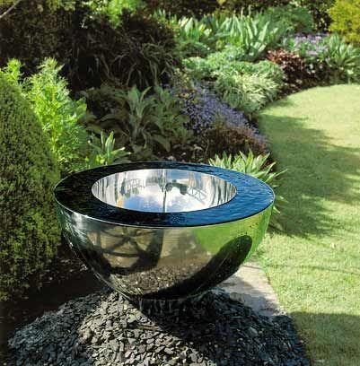 Fotos de fuentes de agua en jardines fotos presupuesto e imagenes - Fuentes modernas para jardin ...