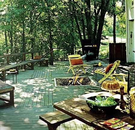 Fotos de patios modernos fotos presupuesto e imagenes - Fotos de patios de casas ...