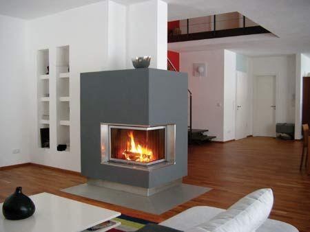 Chimeneas a gas fotos presupuesto e imagenes - Tipos de chimeneas modernas ...