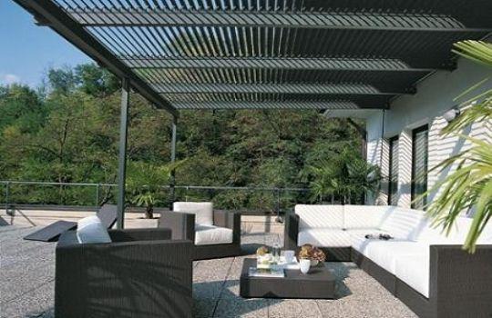 Estructuras aluminio terrazas fotos presupuesto e imagenes - Techos de aluminio para terrazas ...