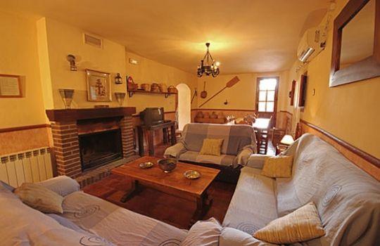 Salas rusticas fotos presupuesto e imagenes - Cosas rusticas para decorar casa ...