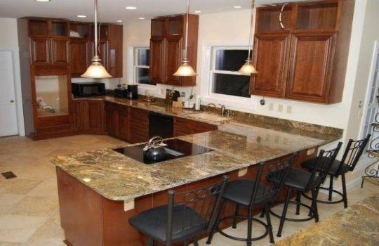 Granito cocina fotos presupuesto e imagenes for M s mobiliario auxiliar para tu cocina s l