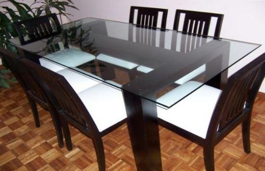 Mesas cristal templado. Fotos, presupuesto e imagenes.