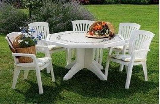 mesas plastico jardin fotos presupuesto e imagenes