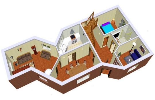 Planos construir casa fotos presupuesto e imagenes for Como disenar una casa gratis