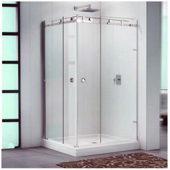 Baño con puerta