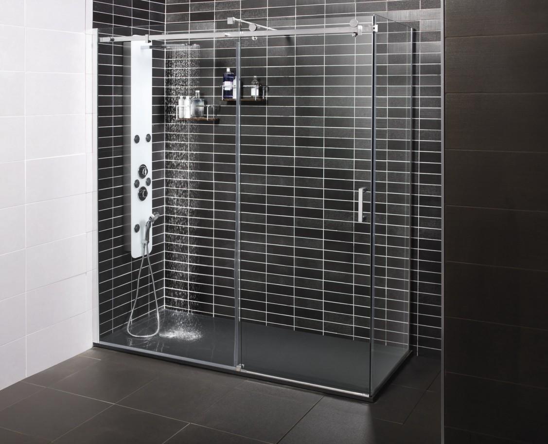 Ba os mamparas ducha fotos presupuesto e imagenes for Fotos de cuartos de bano con ducha modernos